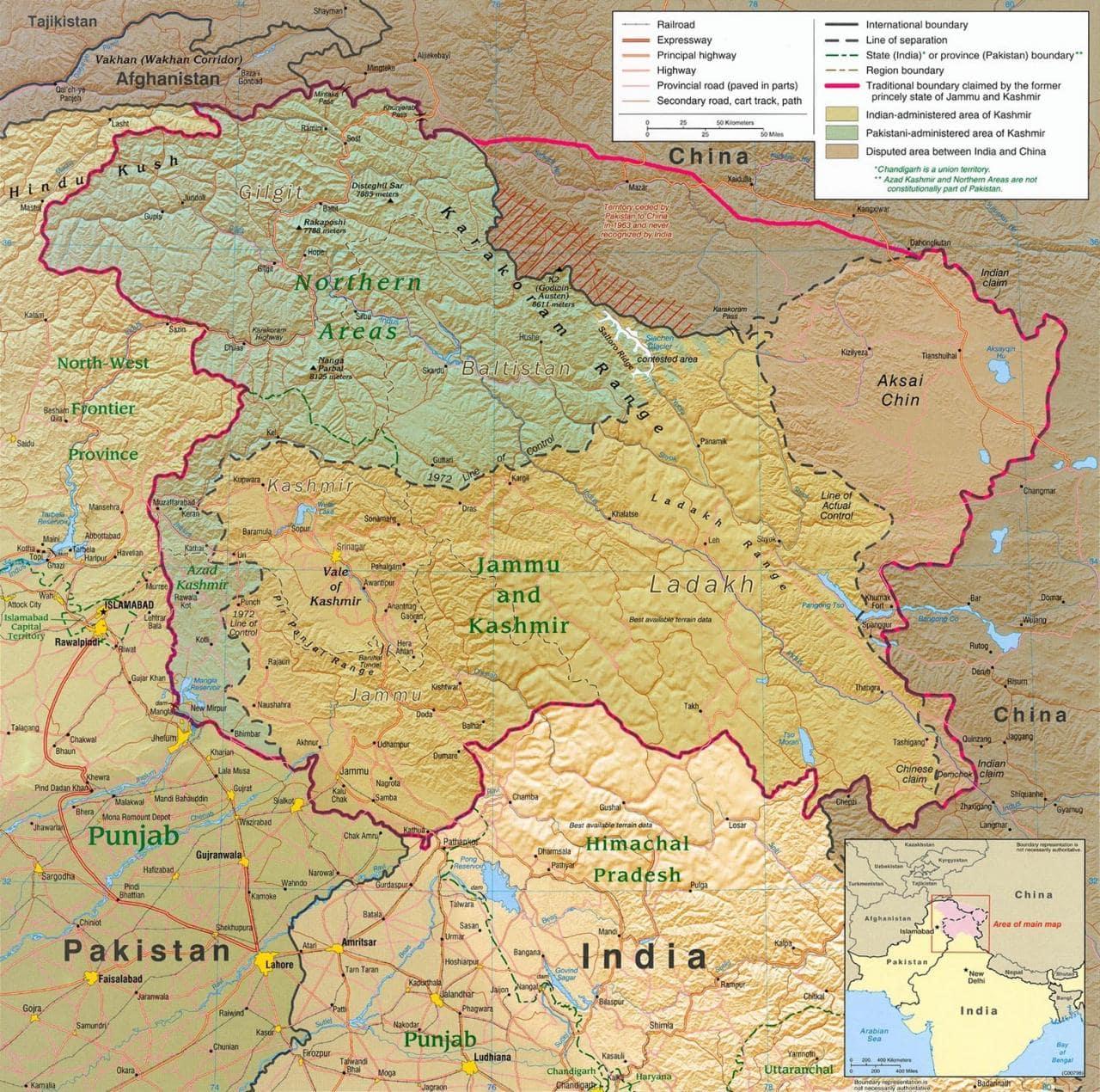 喀什米爾暴動:國家認同只有兩種,「好的印度人」以及「叛國者」