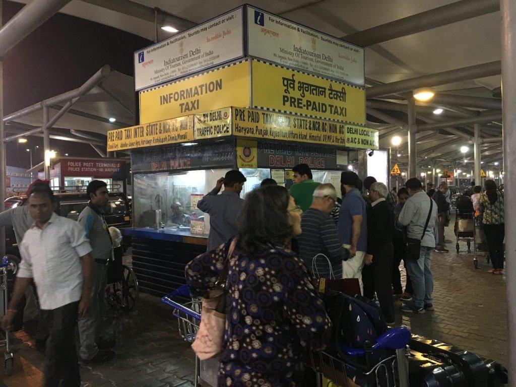 新德里國際機場入境指南小知識