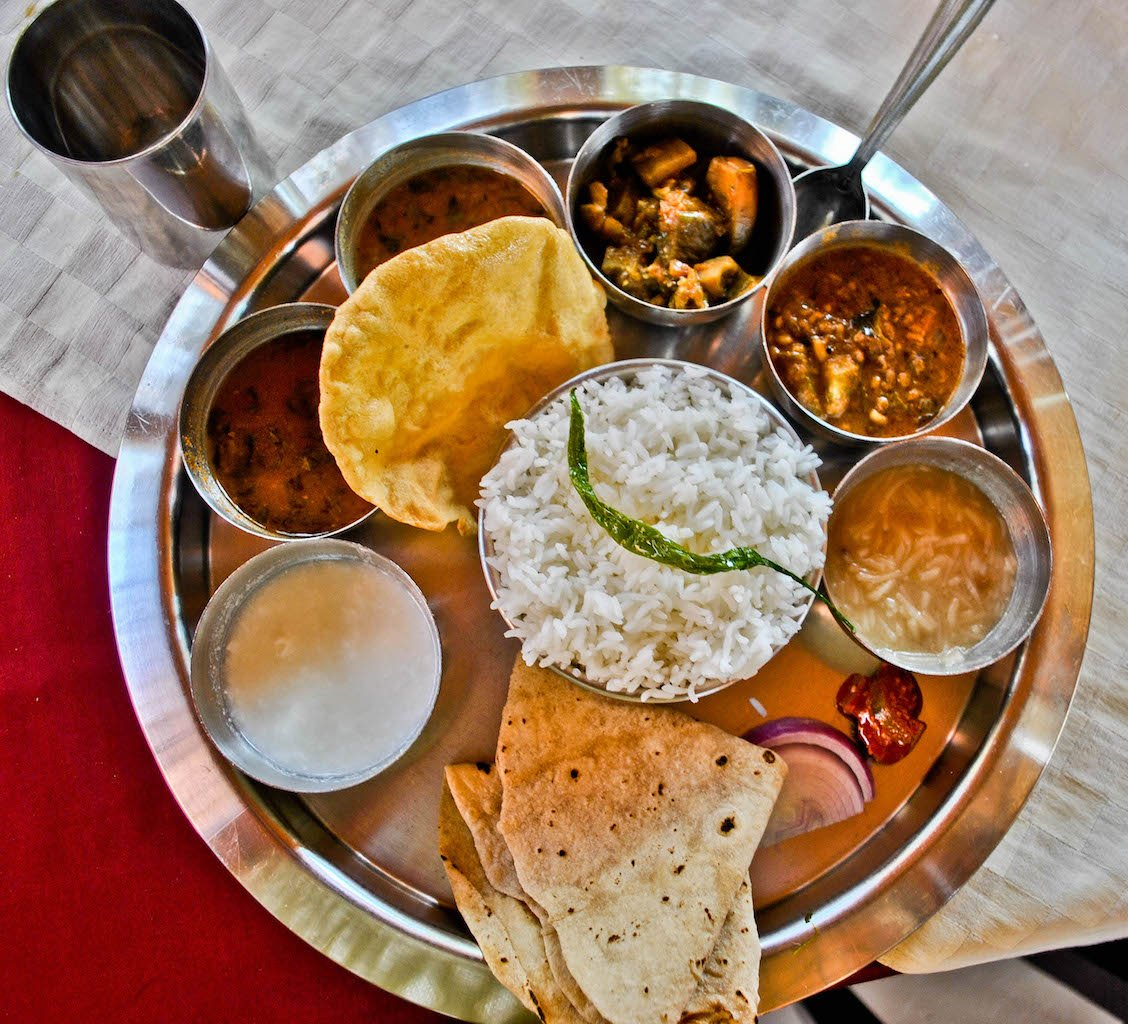 印度精緻定食-Thali