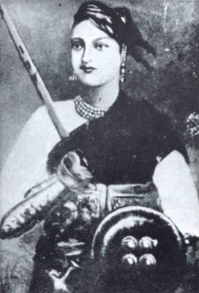 大印度的小歷史-印度聖女貞德:抗英的詹西女王