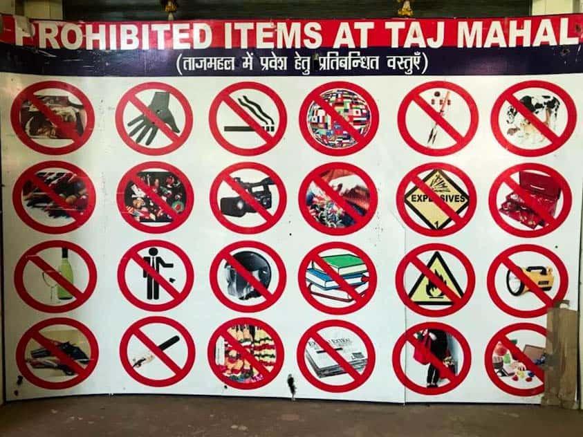 印度的旅遊小知識:參觀泰姬瑪哈陵10點小提醒