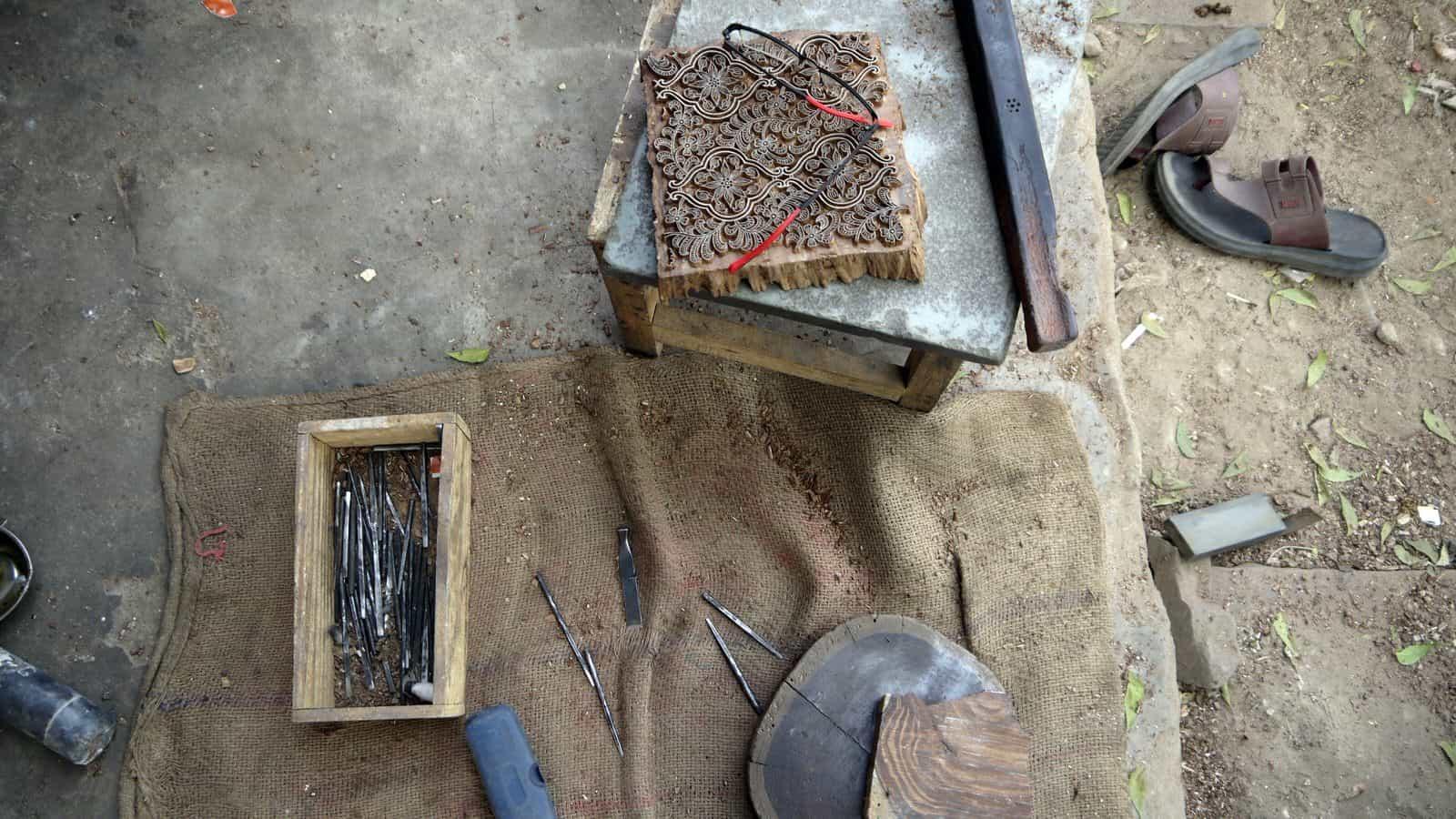 齋浦爾近郊小鎮桑格內爾:私闖染布工廠,木刻印章大叔的攝影練習