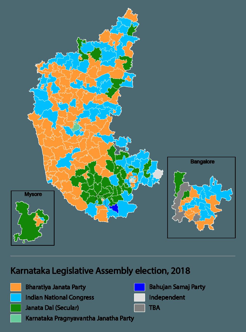 莫迪連任之路:從卡納塔克邦選舉結果看印度2019大選