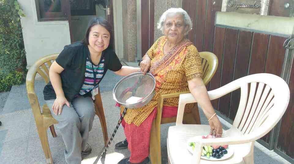 我的印度阿嬤,溫暖又善良的珍德拉女士