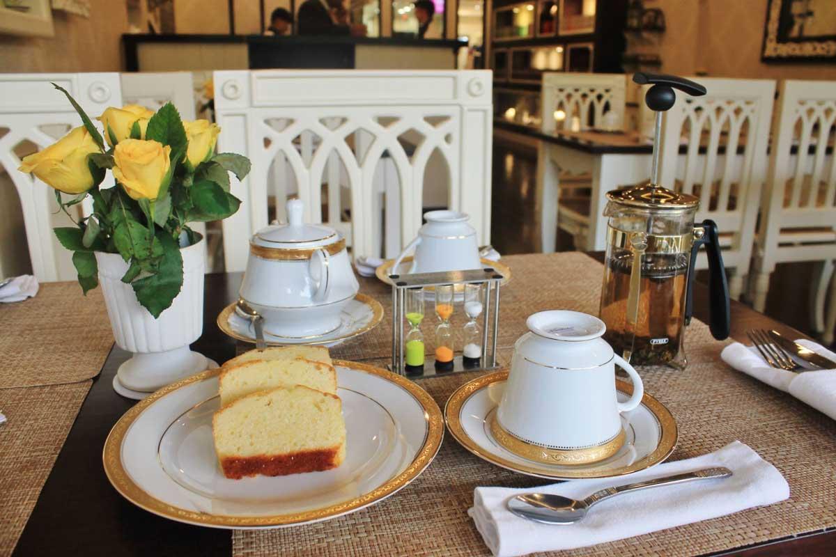 新德里市區裡的復古品茶時光:只屬於茶的地方 The Tea Palace