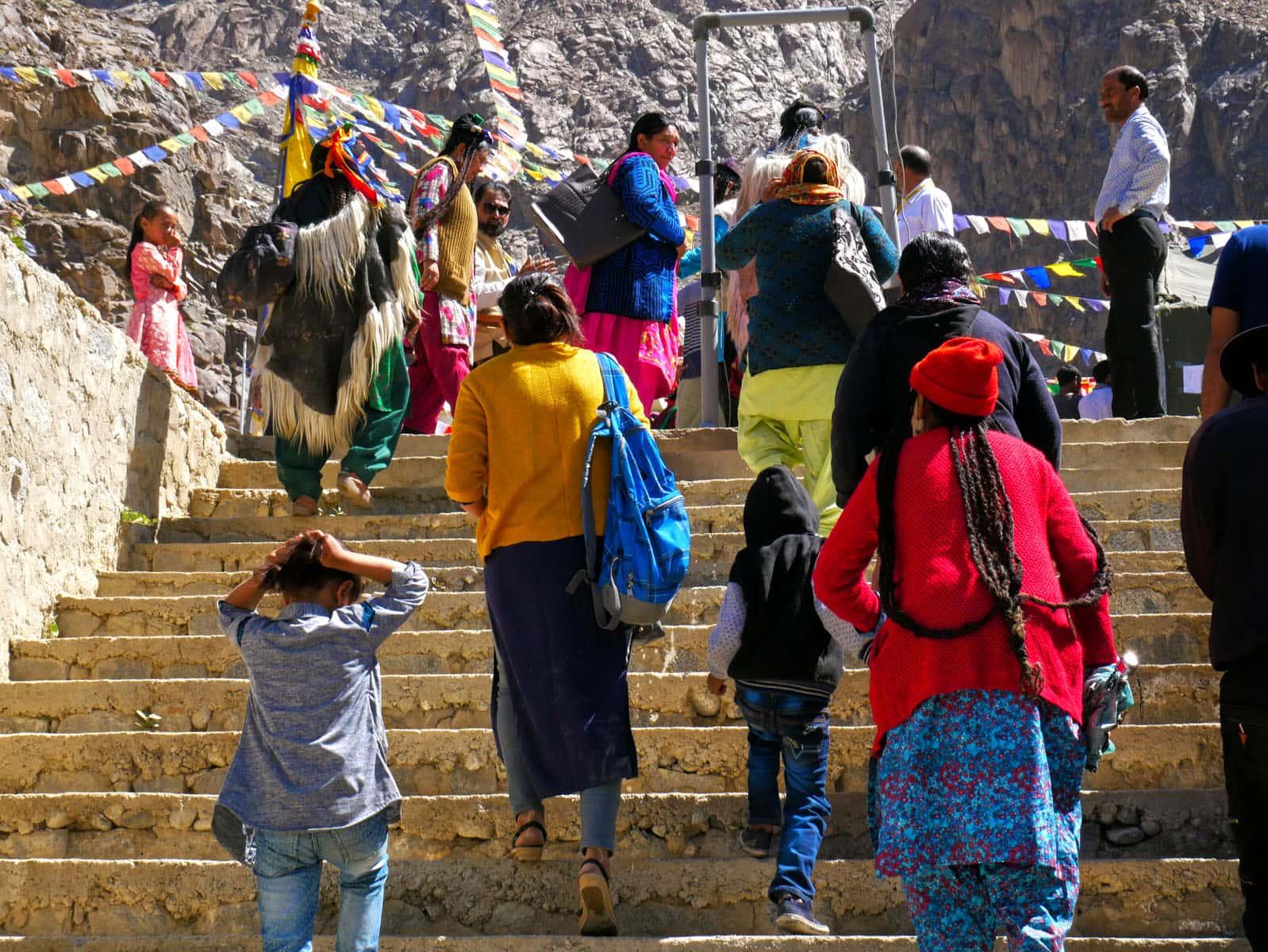 只剩下一萬人!保存在印度拉達克山區的雅利安人(Aryan)文化