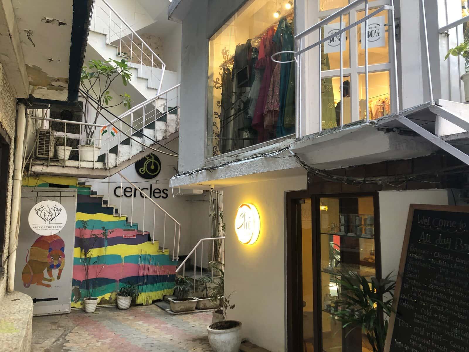 印度必去:新德里小東區 Hauz Khas Village,文青潮流設計款都在這
