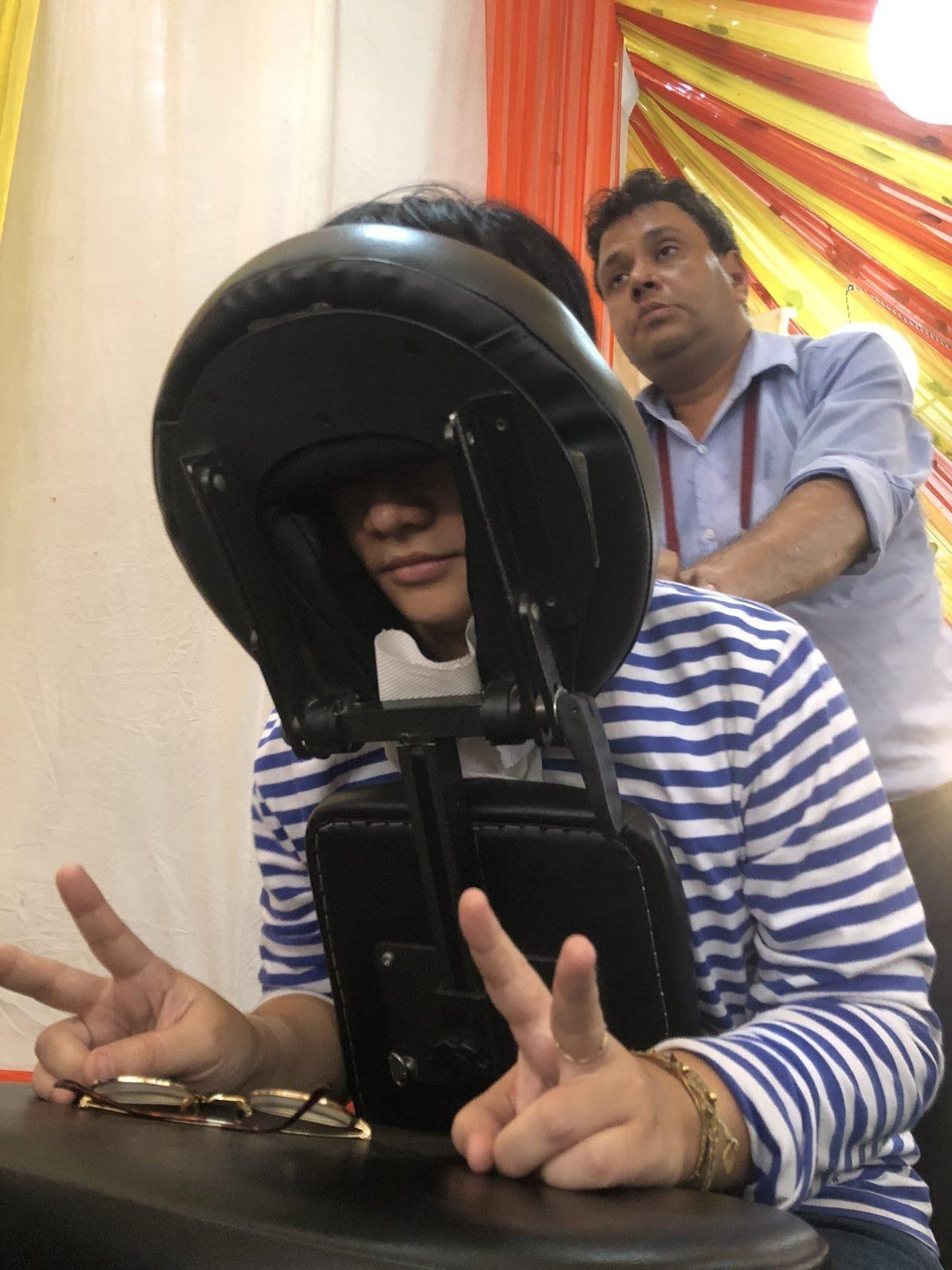 在印度,學會堅韌又柔軟的修煉之術