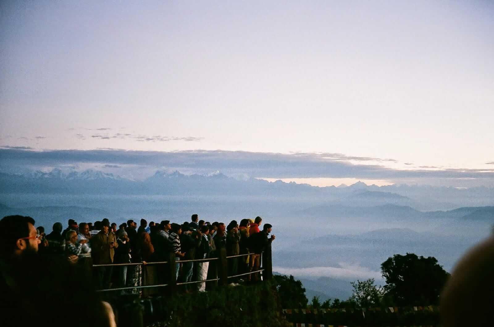 大吉嶺虎丘日出:一抬頭就能望見神蹟,應該是種幸福吧?