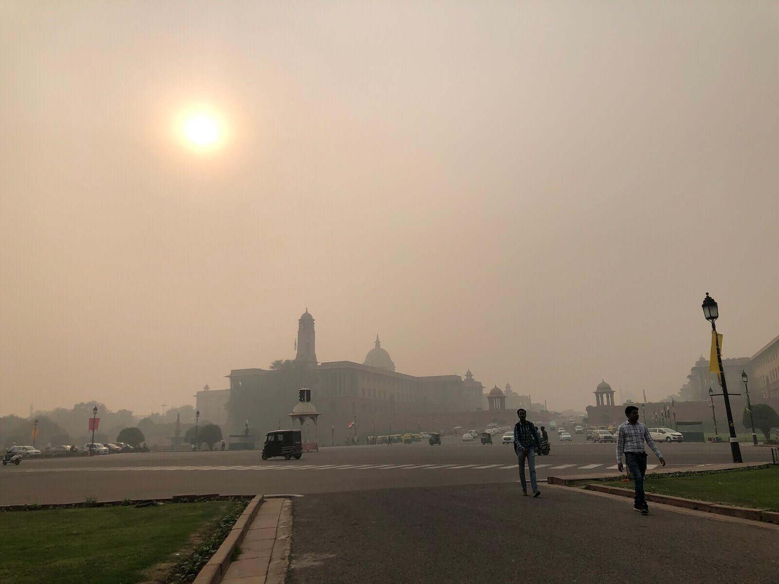 露天毒氣室:我的新德里霧霾人生