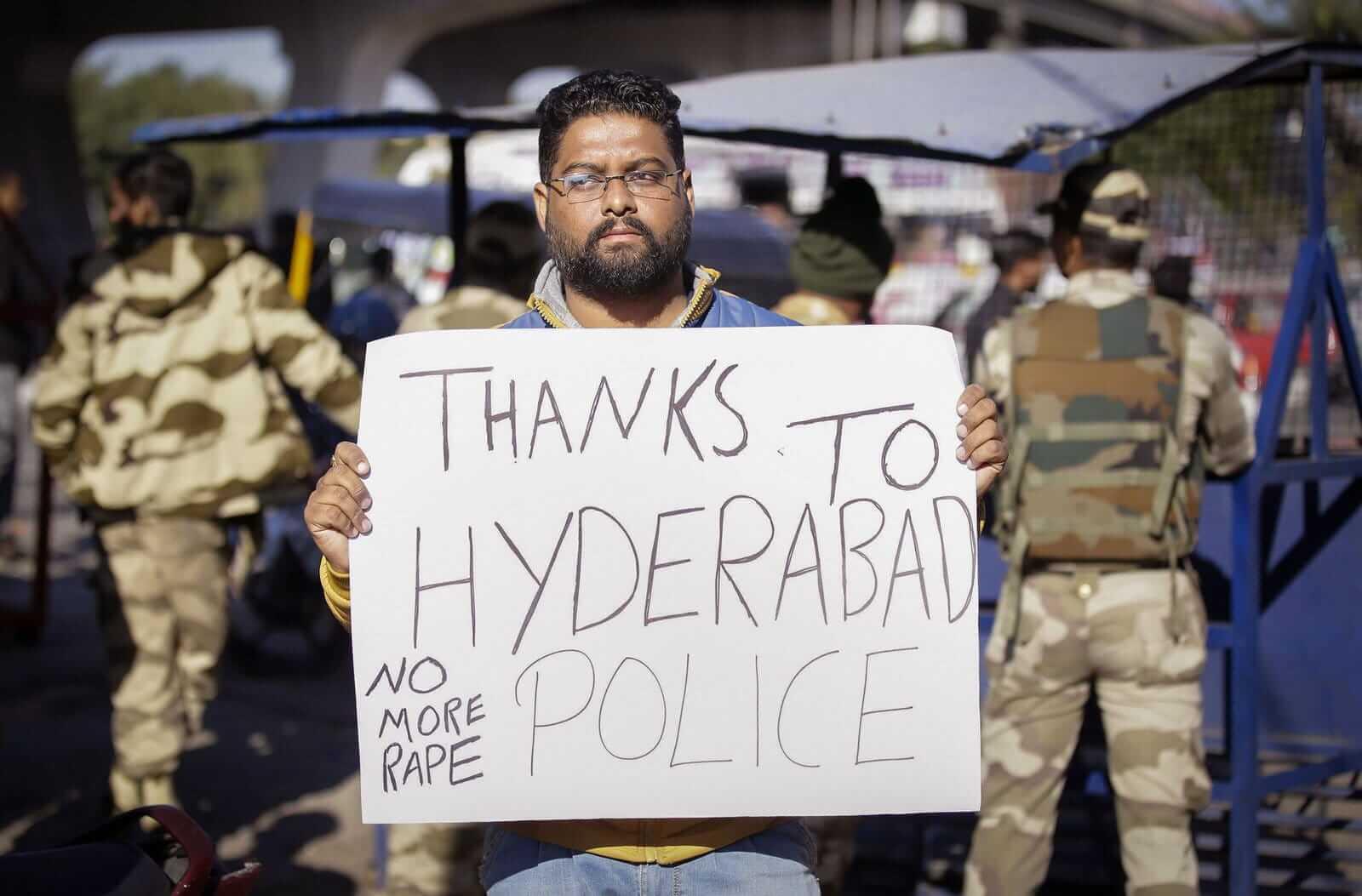 印度女獸醫輪暴謀殺案,傳4名嫌犯被警察射殺