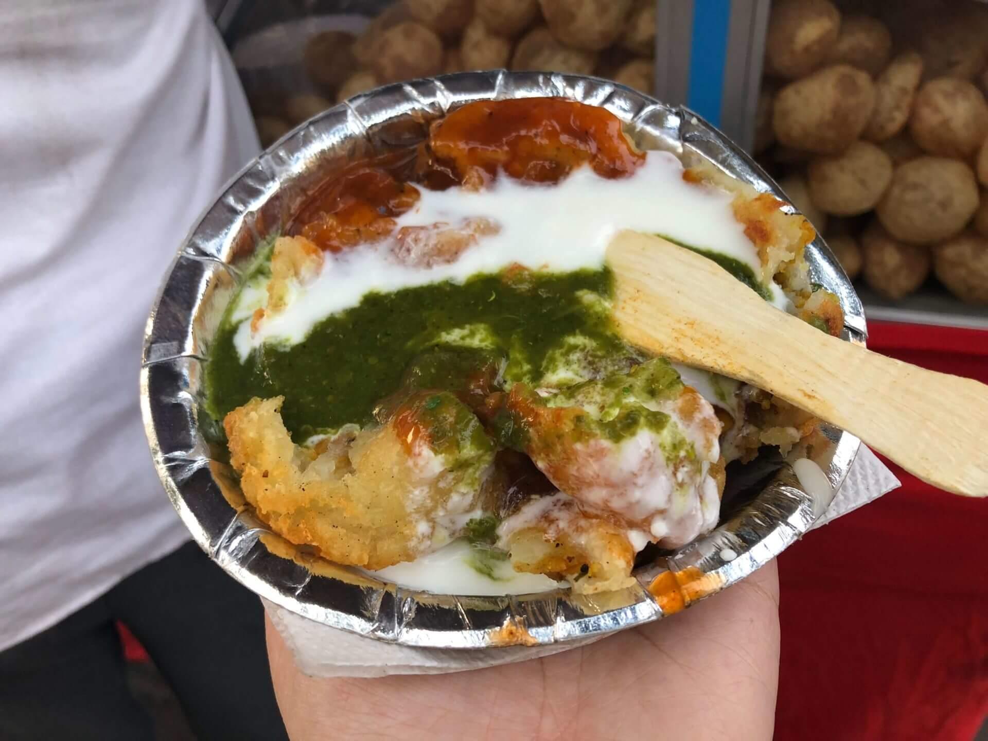 印度必吃:酸甜好滋味!街頭小吃馬鈴薯煎餅 Aloo Tikki