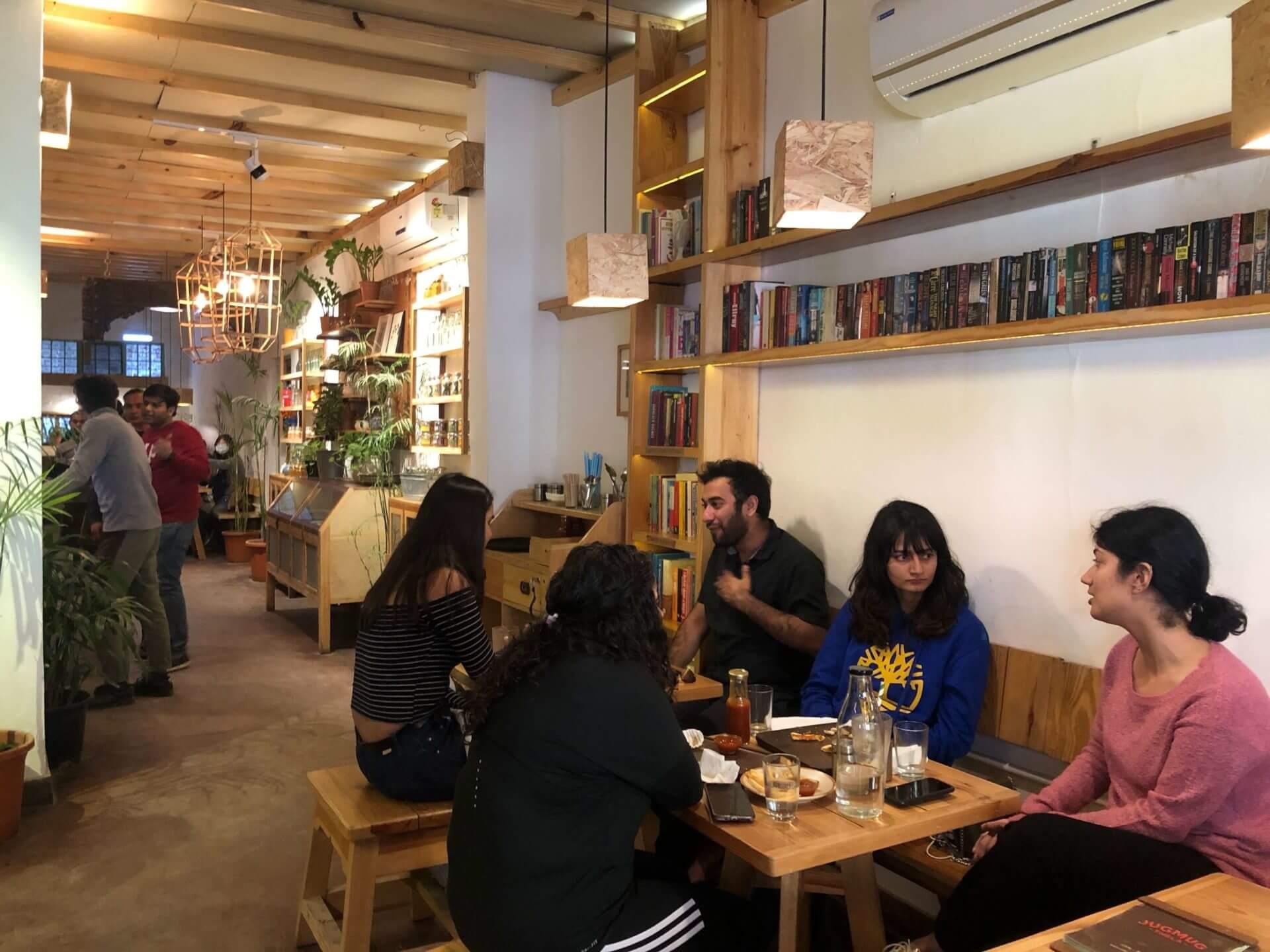 新德里必去:文青設計小店與咖啡廳聚集的 Champa Gali