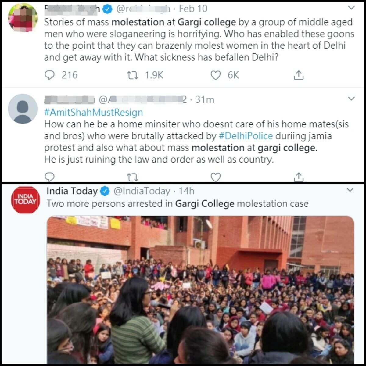 印度千人進攻校園性侵女學生,到底是真的假的?