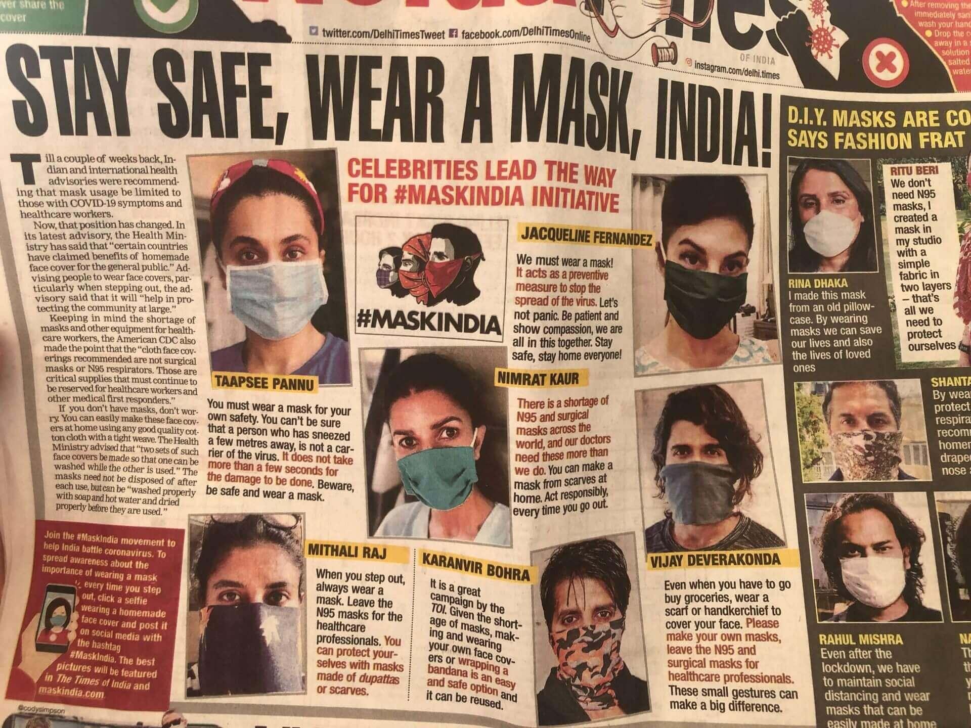 駐印度記者的封城日記:我們會不會慶幸自己做對了什麼