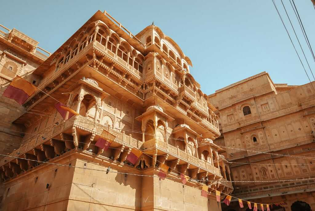 金色城市齋沙默爾的大漠風情:印度12世紀中葉崛起的邊疆堡壘